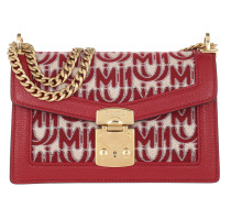 Umhängetasche Confidential Jaquard Shoulder Bag Corda/Rosso rot