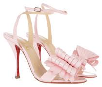 Miss Valois Sandals 100 Leather Pompadour Sandalen