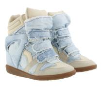 Bekett Sneaker Suede Blue Sneakers