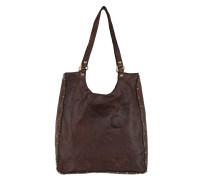 Leather Shopping Tote Moro Shopper