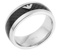 Ring Carbon Fiber EGS1602040 Silver