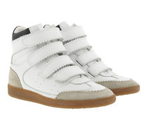 Bilsy Vintage Leather Sneakers White Sneakers beige