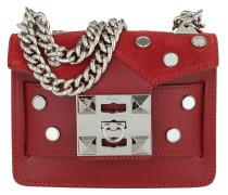Gaia Mirror Crossbody Bag Ruby Tasche