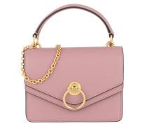 Umhängetasche Harlow Small Shoulder Bag Leather Mocha Rose