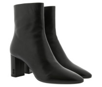 Boots Lou Booties Nappa Leather Black schwarz