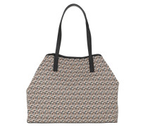Shopper Vikky Large Tote Bag Mocha Multi