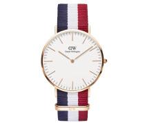 Uhr Classic Cambridge Blue White Red