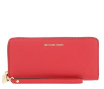 Money Pieces Travel Continental Bright Red
