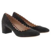 Pumps Lauren Pumps Leather Charcoal Black grau