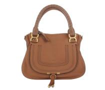 Marcie Medium Shoulder Bag Tan Satchel Bag