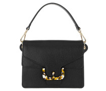 Ambrine Graphic Shoulder Bag Noir Satchel