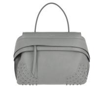 Wave Bag Gommini Small Dark Grey Satchel Bag