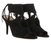 Sandalen Sexy Thing Sandals Leather Black schwarz