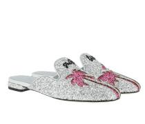 Mule Silver Palms Schuhe