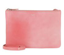 Trio Bag Clutch Calfskin Pink Tasche