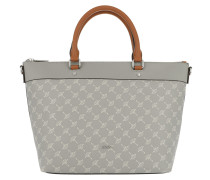 Thoosa Handbag Light Grey Tote
