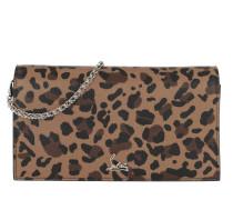 Gürteltasche Boudoir Chain Belt Bag St. Leopardo braun