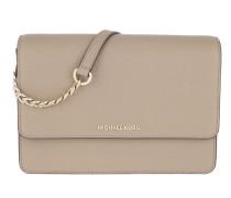 LG Gusset Crossbody Bag Truffle Tasche