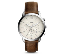 Uhr Watch Neutra Chrono FS5380 Silver braun