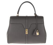 Satchel Bag 16 Bag Medium Grained Calfskin Grey grau