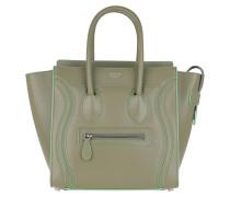 Tote Tote Bag Micro Luggage Light Khaki grün