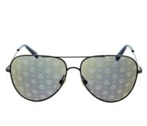 Sonnenbrille MCM117S Silver blau
