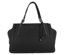 Tote Mixed Leather Pebbled Dreamer 36 Black schwarz