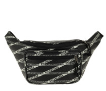 Gürteltasche Explorer Belt Bag Leather Black/White schwarz
