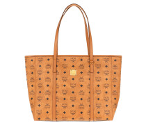 Shopper Toni Visetos Medium Cognac