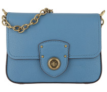 Millbrook Crossbody Bag Pebbled Leather French Blue Tasche
