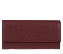 Mayfair Continental Wallet Dark Red