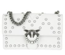 Love Pearl Shoulder Bag Bianco Brill Tasche