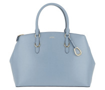 Satchel Bag Bennington Double Zip Satchel Large Blue Mist teal-cyan