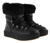 Snow Boot_ Black Schuhe