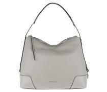 Hobo Bag Crosby LG Shoulder Bag Pearl Grey grau