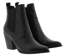 Boots Patricia Bootie Black Leather