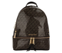 Rucksack Rhea Zip MD Backpack Brown/Gold braun