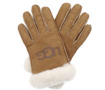 Handschuhe W Sheepskin Logo Glove Chestnut