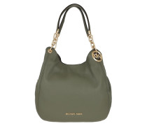 Shopper Lillie Large Chain Tote Army Green