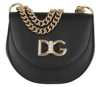 Wi-fi Media Shoulder Bag Leather Black Tasche