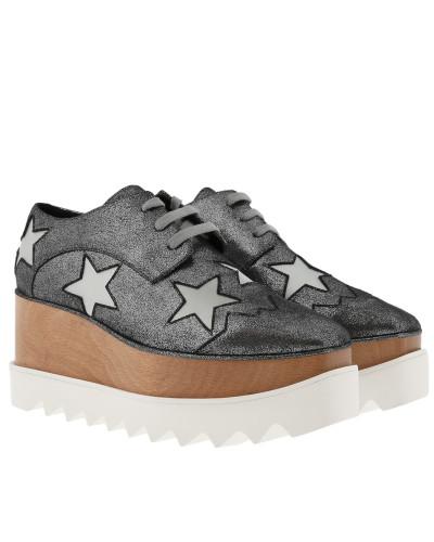 Stella McCartney Damen Elyse Platform Shoes Silver Grey Sneakers Billige Schnelle Lieferung tww2d