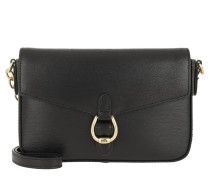 Flap Crossbody Medium Black Tasche