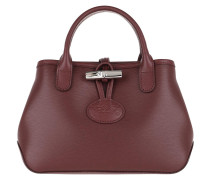 Tote Roseau Crossbody Bag Leather Brandy rot