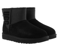 W Classic Mini Sparkle Black Schuhe
