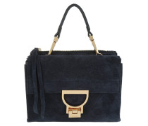 Arlettis Suede Shoulder Bag Bleu