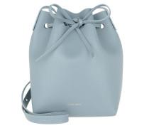 Mini Bucket Bag Grey Blue Beuteltasche