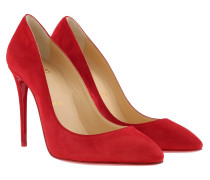 Pumps Eloise 100 Pumps Veau Velours Loubi Red rot
