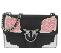 Love Rose 1 Tracolla Crossbody Bag Nero/Rosa Tasche