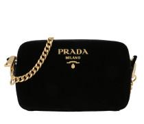 Bandoliera Crossbody Bag Velvet Nero Tasche