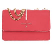 Crossbody Bag Shoulder Pad Small Vivid Red/Fresh Rose Tasche